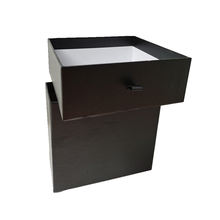 Luxury Black Packaging Small Product Foam Insert Box For Gift Pack