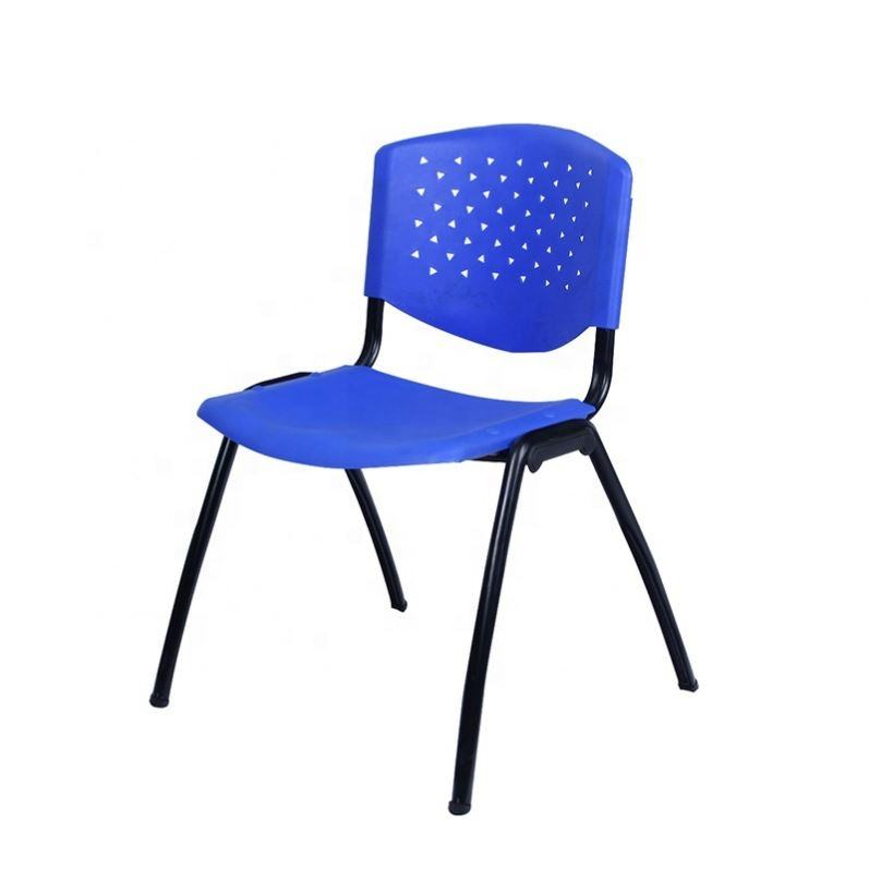 Hot sale school funiture classical class room student chairs stacking plastic stacking library chair