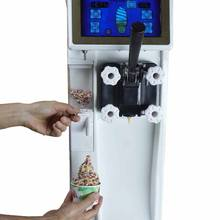 Multi flavors burst Taylor Commercial Softy Automatic Vending ETL Icecream Machine