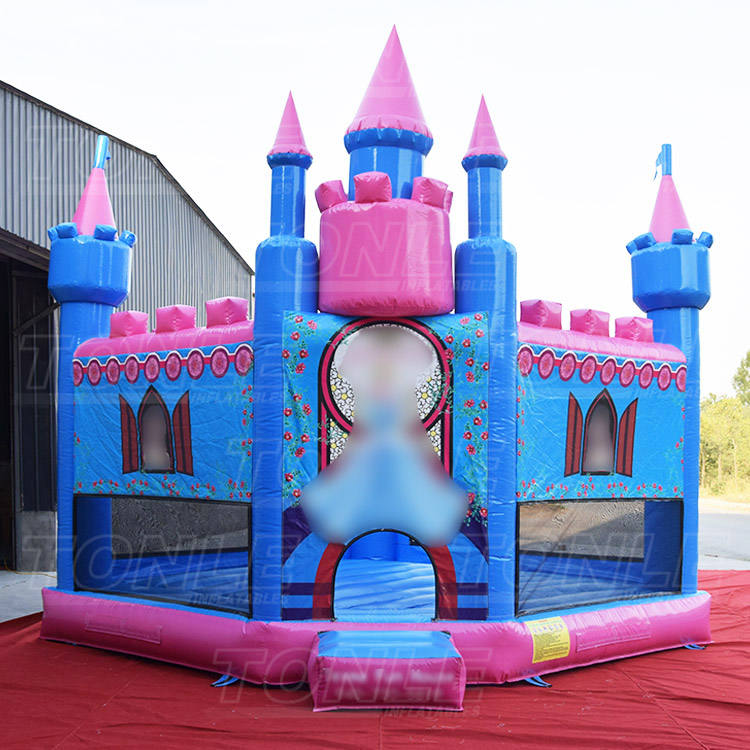 Commercial pvc cheap girls princess castle inflatable bouncer jumper/ bounce house/ jumping bouncy castle for kids