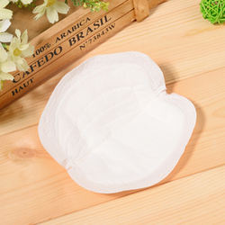 Private Label Soft Non Woven Disposable Breast Pad With Adhesive Tape
