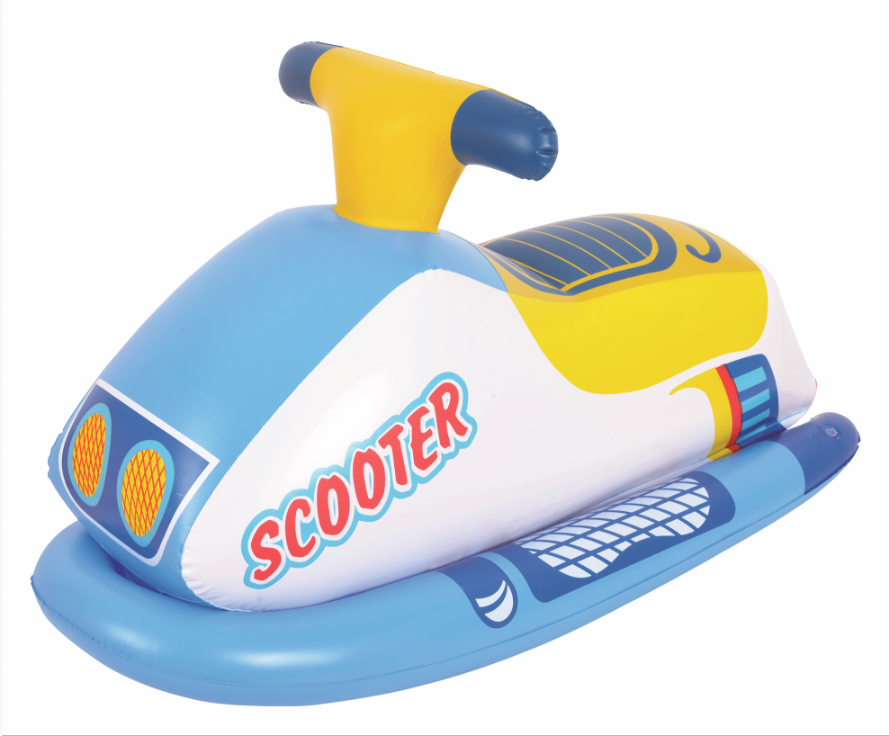 Children Water Fun Custom Inflatable Scooter Rider Float for Kids