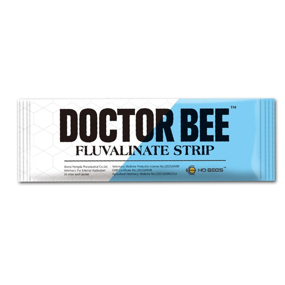 20 strips Doctor Bee Fluvalinate Strip varroa mite medicine