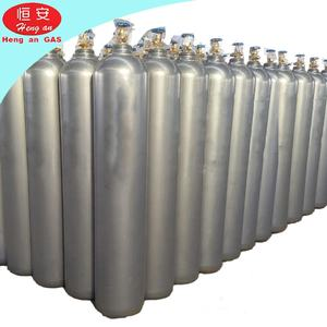 China Price 40L CO2 Gas Cylinder 150Bar Liquid Carbon Dioxide Price