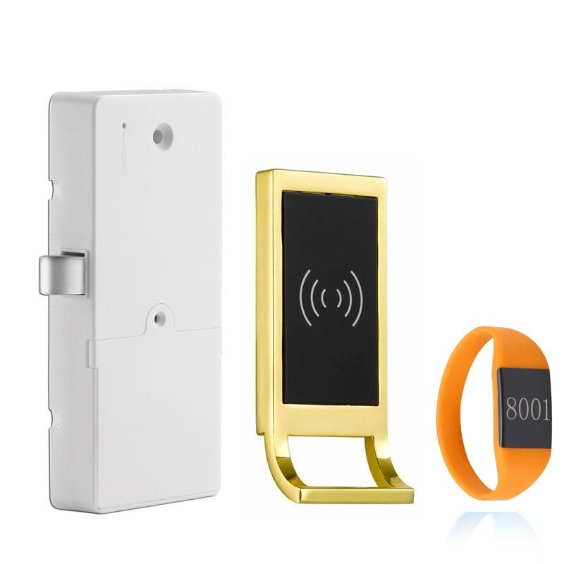 Electromechanical Sensor Gym Locker Lock Manufacturer Cabinet Door Lock with Rfid card kunci lemari serratura dell'armadietto