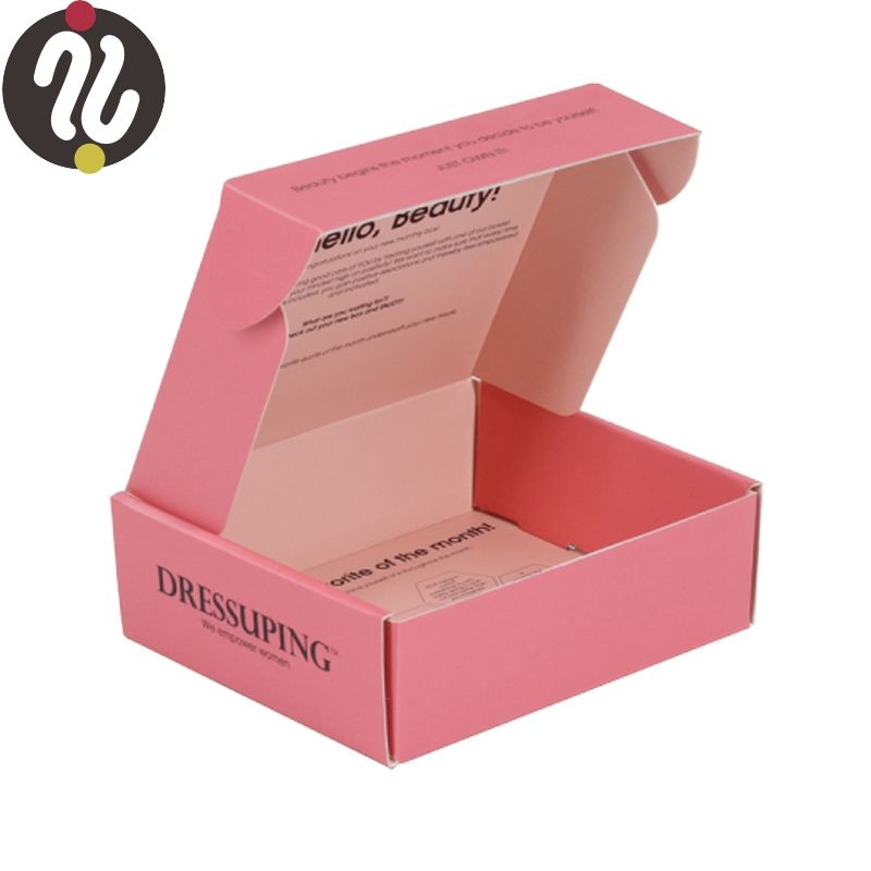 packaging paper box luxury custom kraft paper clothing boxes and chocolate gift boxes packing