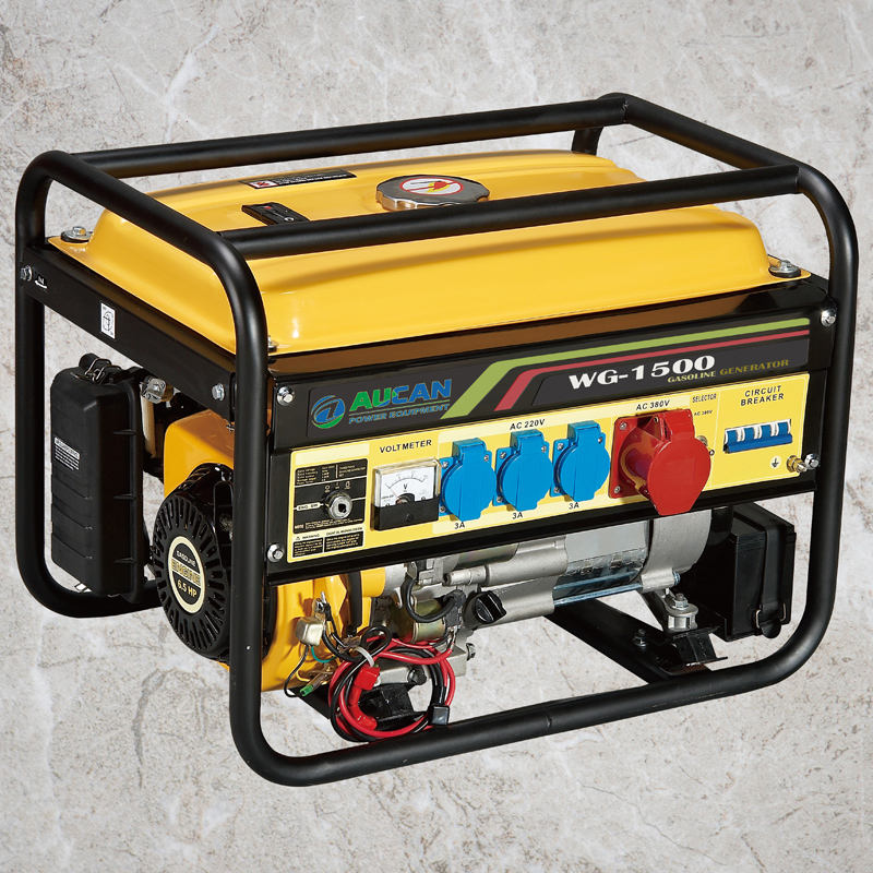 1kw Honda style DC AC Gasoline Portable Power Generators Silent with Electric starter