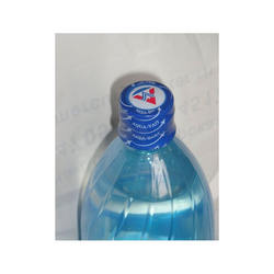 PVC shrink band for plastic bottles
