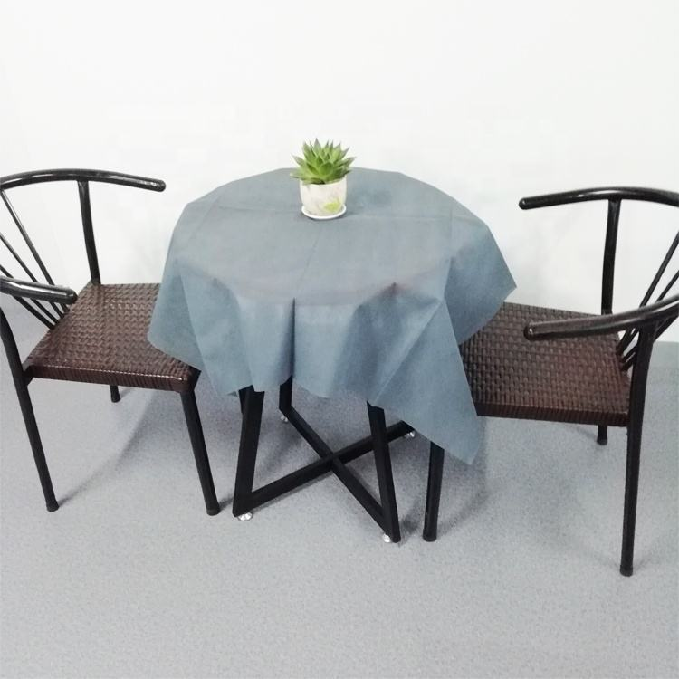 50gsm disposable non woven table cloth tnt tablecloth suppliers