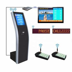 Full 17'' Automatic Wireless Banking/Hospital Queue Management System