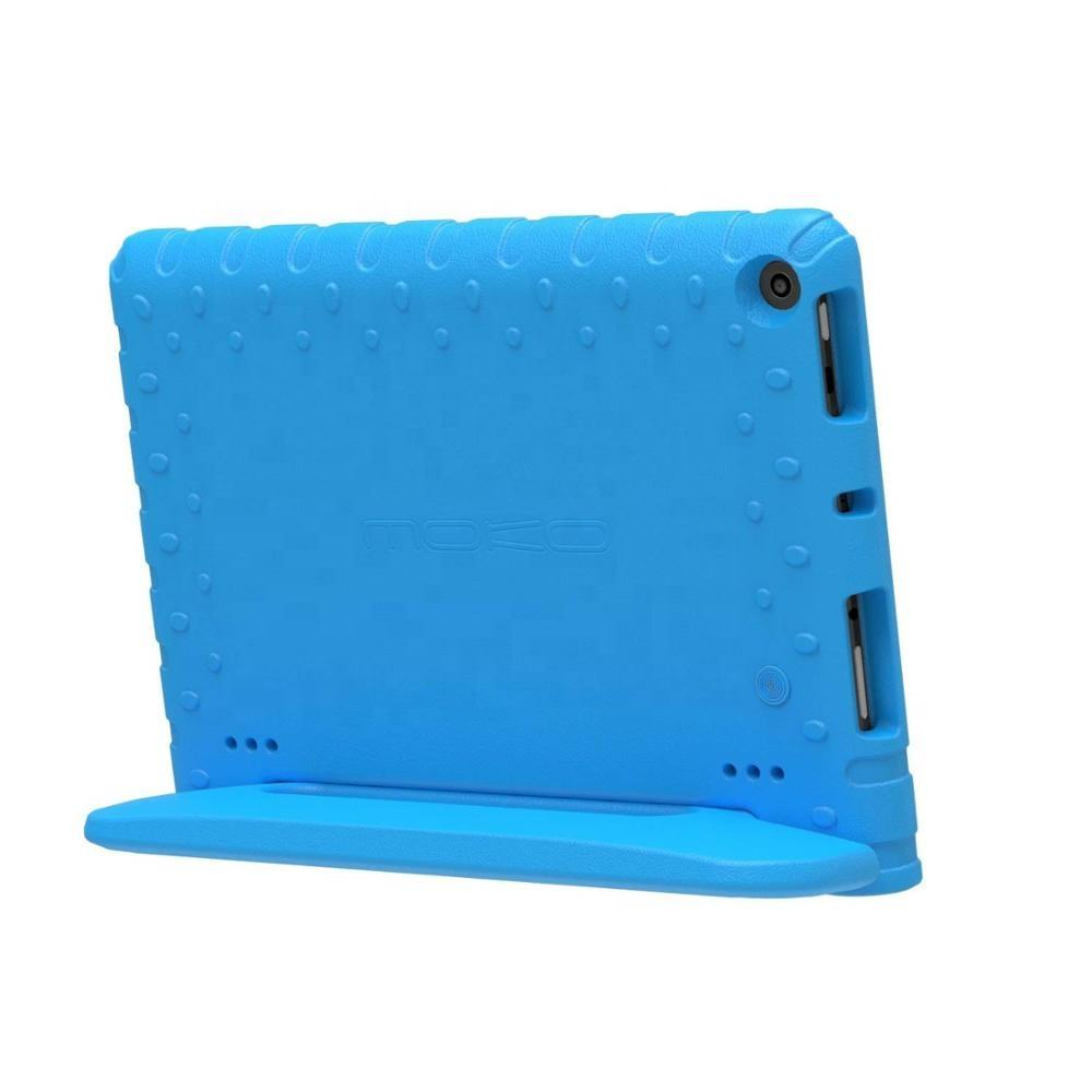 MoKo Eco- friendly EVA Foam Handle Stand Case for Fire HD 10 Tablet (5th/7th/9th Generation, 2015/2017/2019 Release)