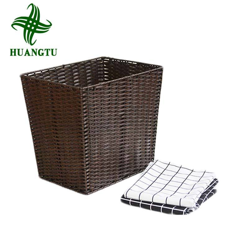 Rattan Laundry Dirty Clothes Home Storage Basket Large Storage Box Mesh Laundry Bag Laundry Hamper