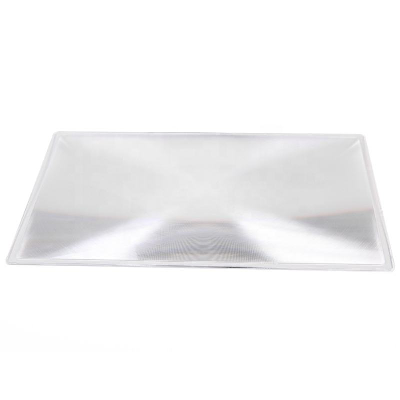1000*1000 Large High Transparency Acrylic Fresnel Lens For Solar Energy