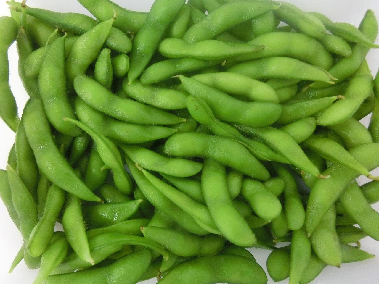 Wholesale IQF Green Soy Beans
