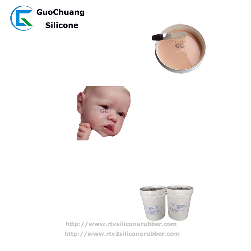 soft 0 shore a liquid silicone rubber for reborn baby dolls