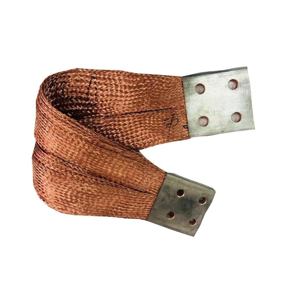 Copper Braid Flexible Busbar For Power Distribution Peralatan