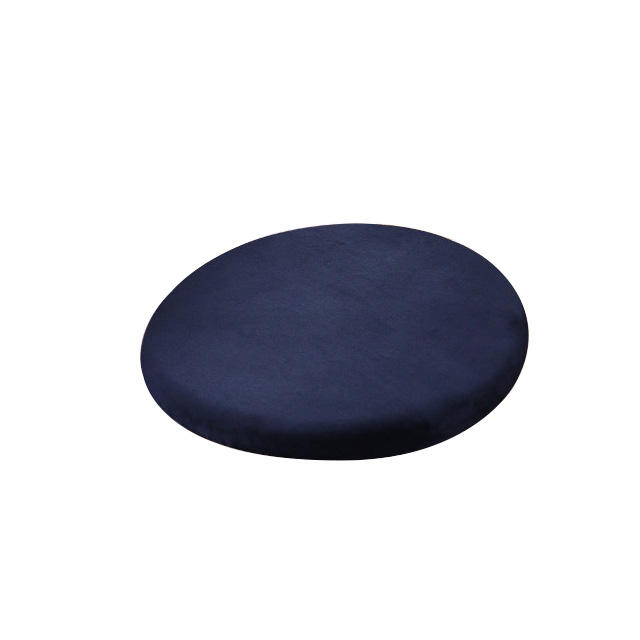 Round custom wholesale restaurant booth tailbone pain relief polyester seat cushion
