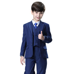 Shipping Cost Can Be Discussed NEW ARRIVAL! 2020 Nimble Fashion Classical Solid Blue Boys Wedding Suit