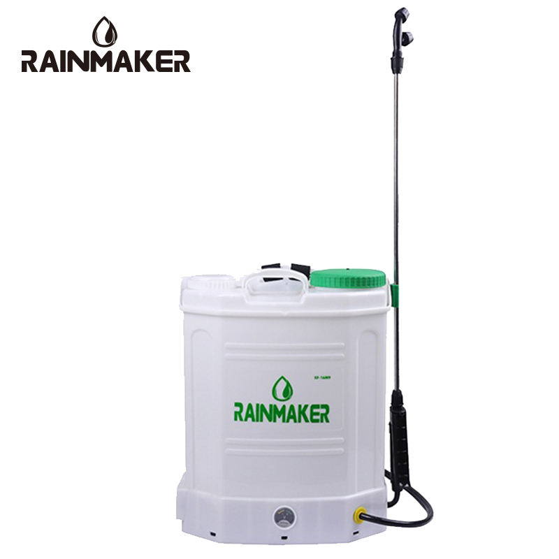16L Pertanian Pertanian Ransel Tangan Lithium Battery Electric Elektrik Pompa Dioperasikan Powered Sprayer untuk Weed Mesin