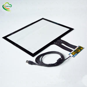 15 inch EETI Ilitek Controller Board Anti Glare Capacitive Overlay Touch Screens