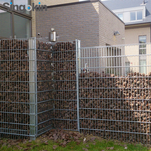 50x50 napal stone gabion inox box welded mesh galvanized gabion basket for gabion wall construction