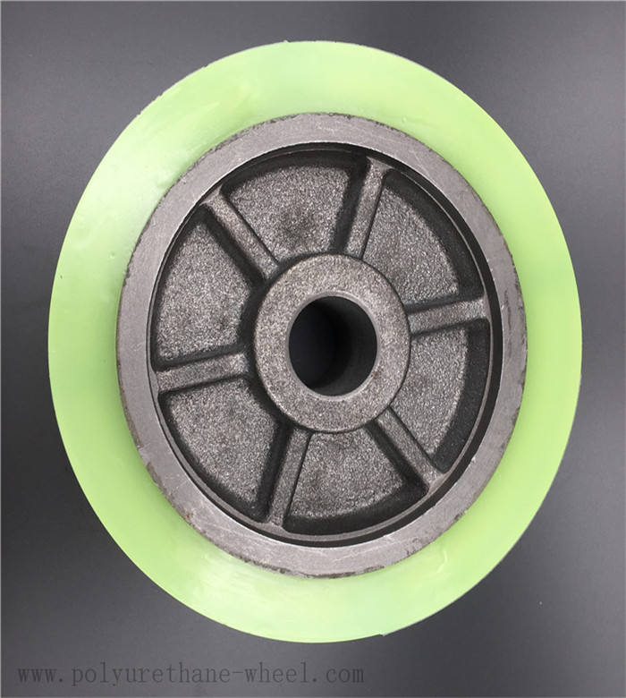 Best price customized ram 1500 wheel PU polyurethane wheels and rollers x1186