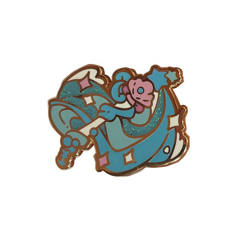 Sailor Moon Cartoon Thema Kunshan Metalen Ambachten Fee <span class=keywords><strong>Stok</strong></span> Vlinder Koppelingen Harde Emaille Pin