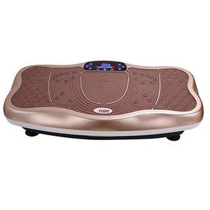 3D blood circulation power fit ultrathin whole body crazy fit massage vibration plate for body building