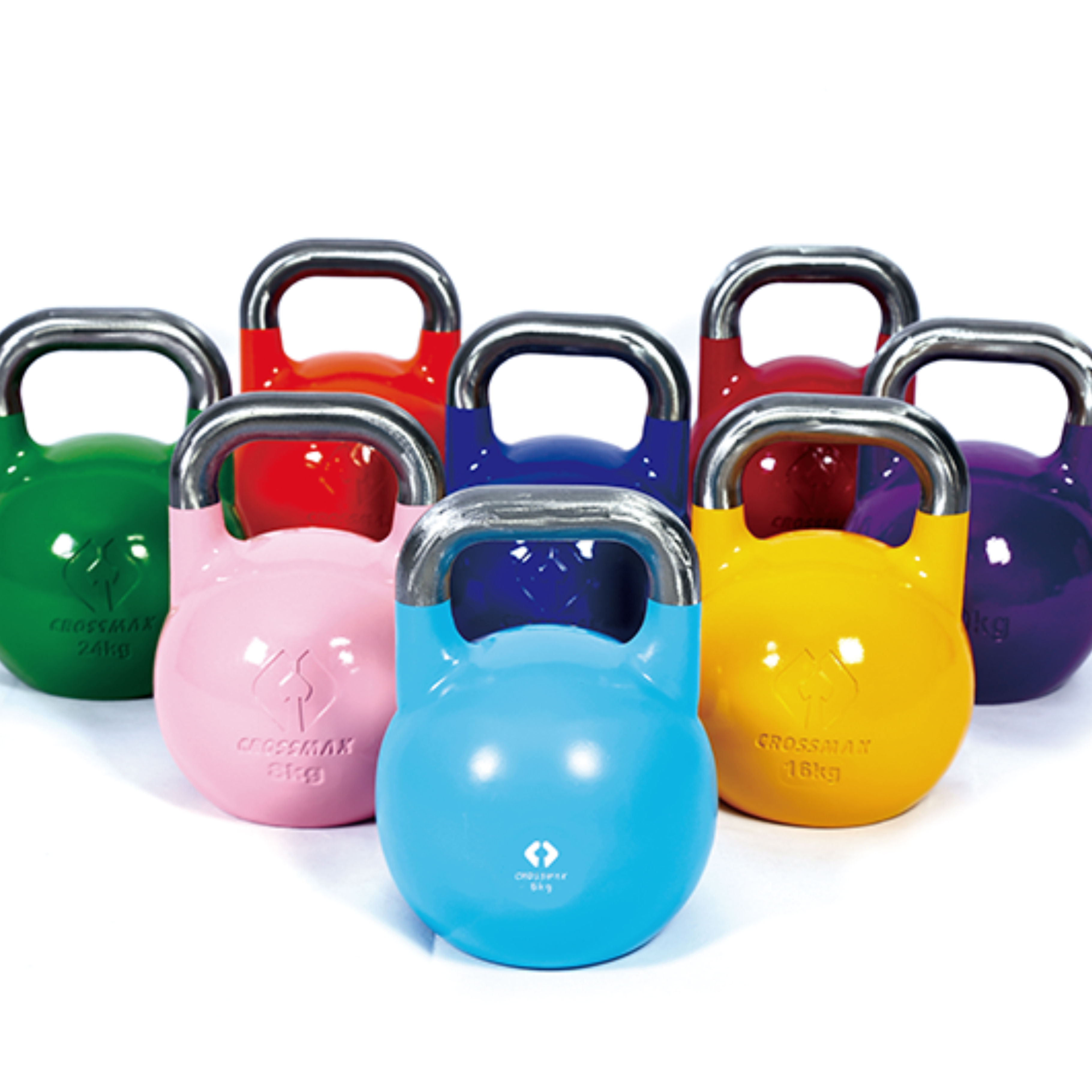 Chinese Factory Sale Custom Logo Weight Competition Steel Kettlebell