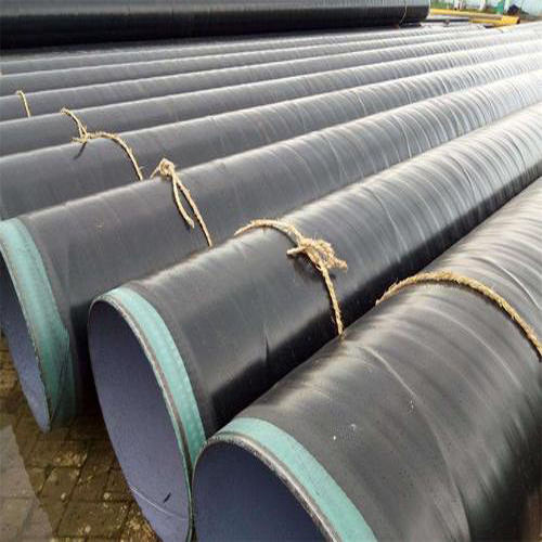 PE Coated Oil Pipeline SSAW Welded Tube Water Well Spiral Anti Corrosion Steel Pipe