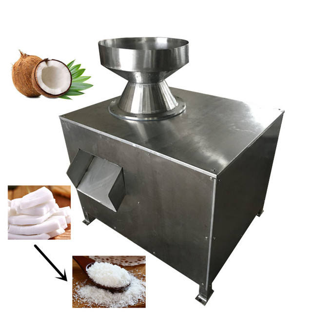Electric Coconut Meat Crusher Grater Grinding Crushing Grating Machine