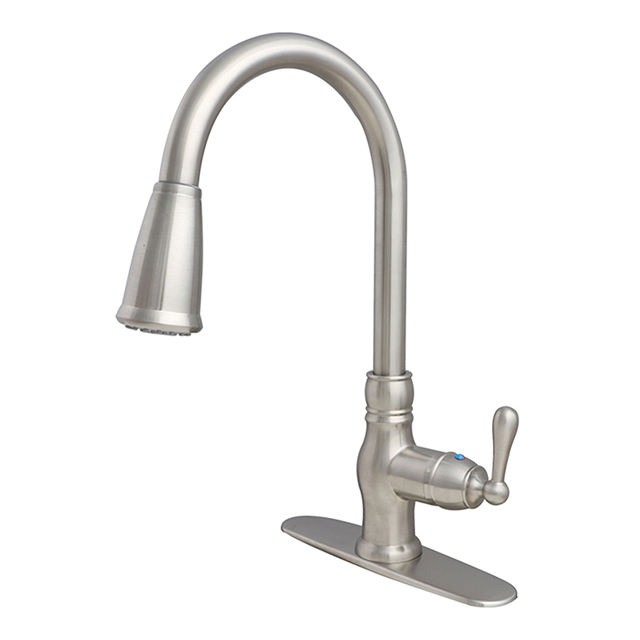 New Styles Pull Down Spray UPC Kitchen Sink Faucet
