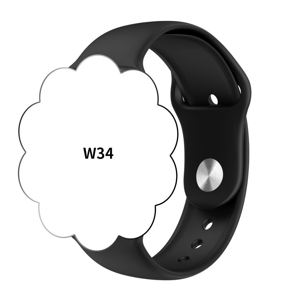 Iwo 8 9 10 11 12 Heart Rate Gps Bluetooths Ecg Microwear Appling Watch Series 3 4 5 1:1 W34 Smartwatch Smart Watch