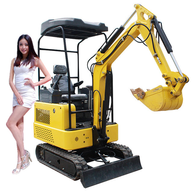tree planting digging machines hole digger hydraulic grab excavator rubber tire mini excavators