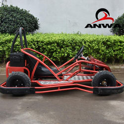 Safety Bumper Electric Start Carting Children Racing Go Kart 1000W For Kids and Adults