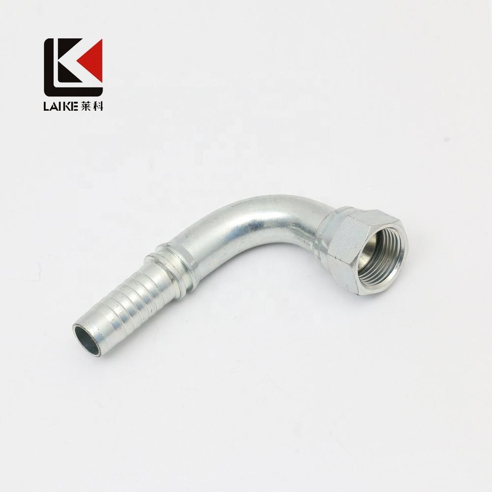 29641/29691 Female JIS BSP 30 Degree Flare Hydraulic Fitting Hose Terminal in 45 and 90 Elbow