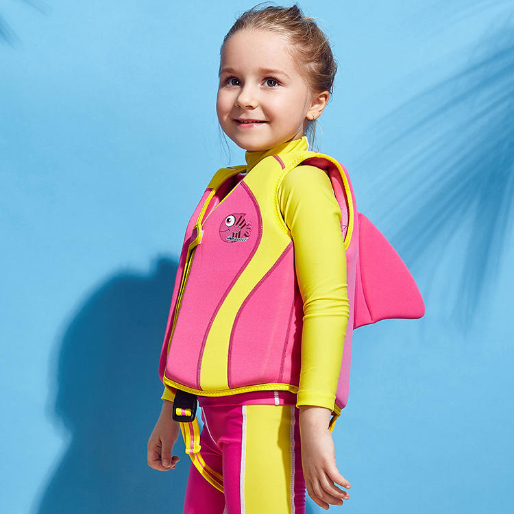 Personalized Light And Thin Baby Float Suit Swim Safety Marine Vest Children Kid Neoprene Printing Life Vest Jacket for Child