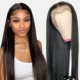 Natural Remy Brazilian cuticle aligned hair HD full lace wig with baby hair,lace frontal Human Hair Wigs For Black Women.