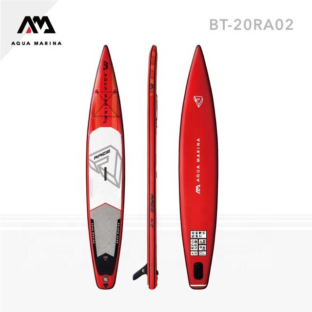 "Race 14'0"" Double Layer Racing Paddle Board Inflatable SUP"