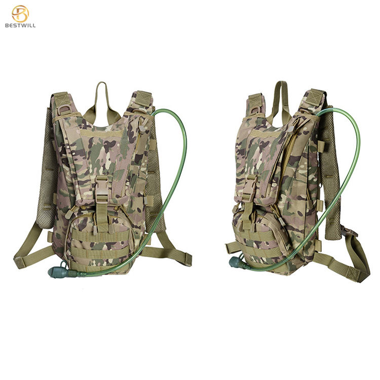 Durable multicam air support camping hiking bag military tactical backpack