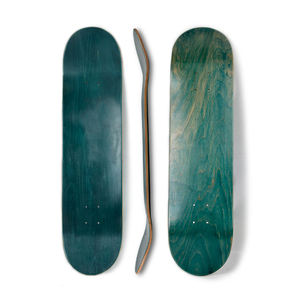 China Pro 7 layer 100% Canadian maple veneer custom blank wooden skate board decks