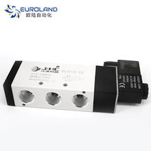 High Quality Air Pilot Control 4V210 Pneumatic Valve 2/5 Way Air Compressor Solenoid Valve