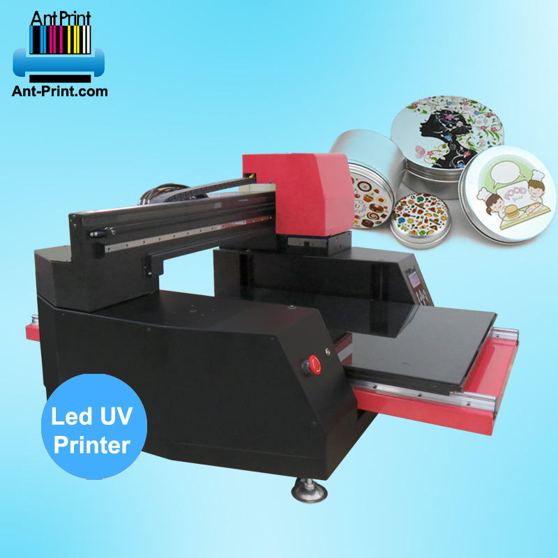 Professionele grootformaat 9060 led uv flatbed digitale glas printer voor mok glas metalen keramische materialen