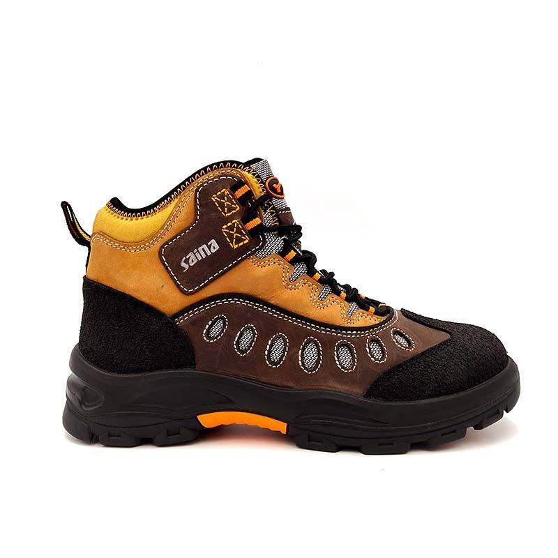 Customized OEM Fashion style safety boots men work shoes