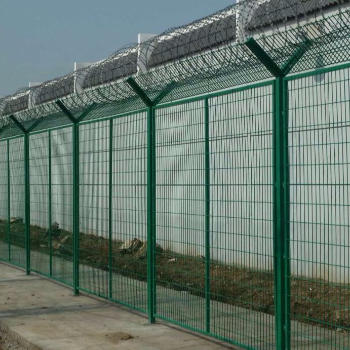 security welded wire mesh fence