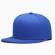 Wholesale Flat Bill 6 Panel Plain Snapback Cap Blank Snapback Hat