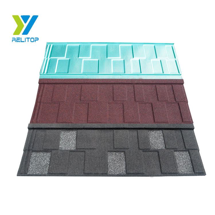 High quality stone coated wholesale Japanese style metal roofing shingles