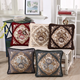 Chenille jacquard vintage decorative cushions home decor throw pillows