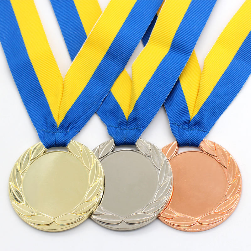 High Quality Design Your Own Custom Made 3D Sport Blank Award Medal