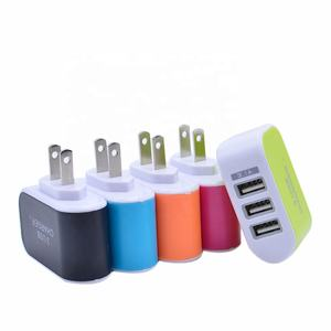 3.1A Triple USB Port Wall Home Travel AC Charger Adapter US Plug Mobile Phone Charger 3 Ports For Samsung Huawei Xiaomi iPhone